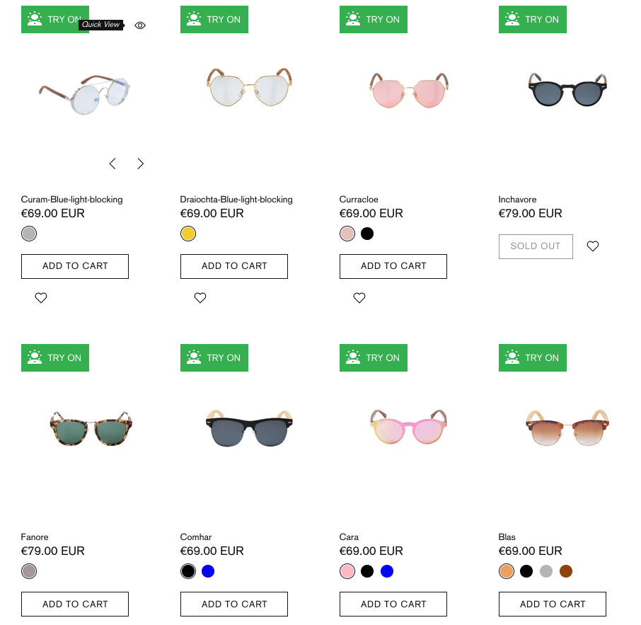 Crann Irish Sustainable Wood Sunglasses -Diamond Shape Face