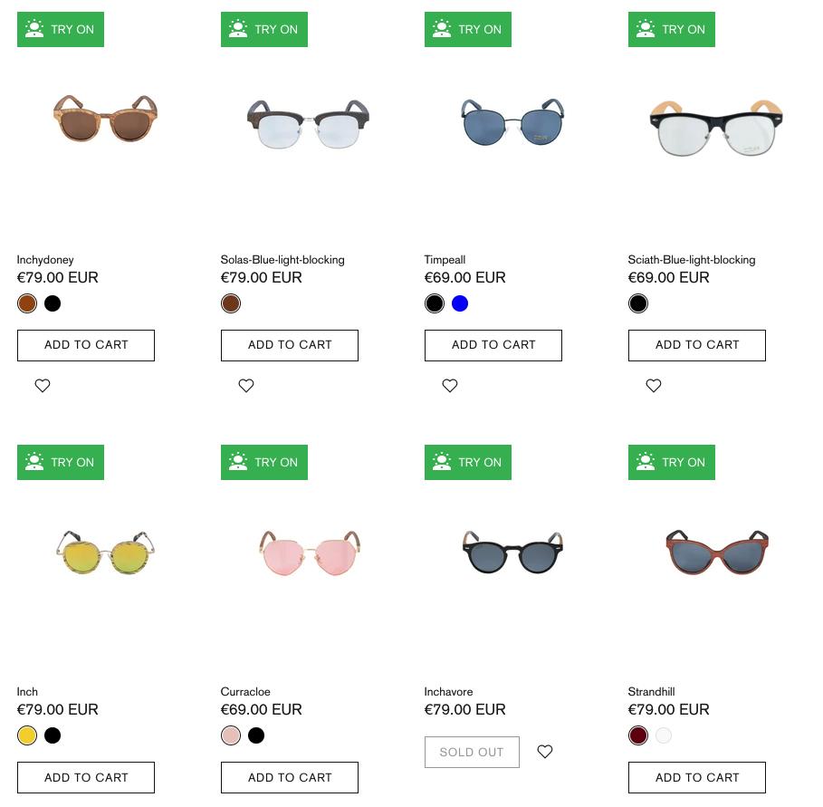 Crann Irish Sustainable Wood Sunglasses - Oblong Shape Face