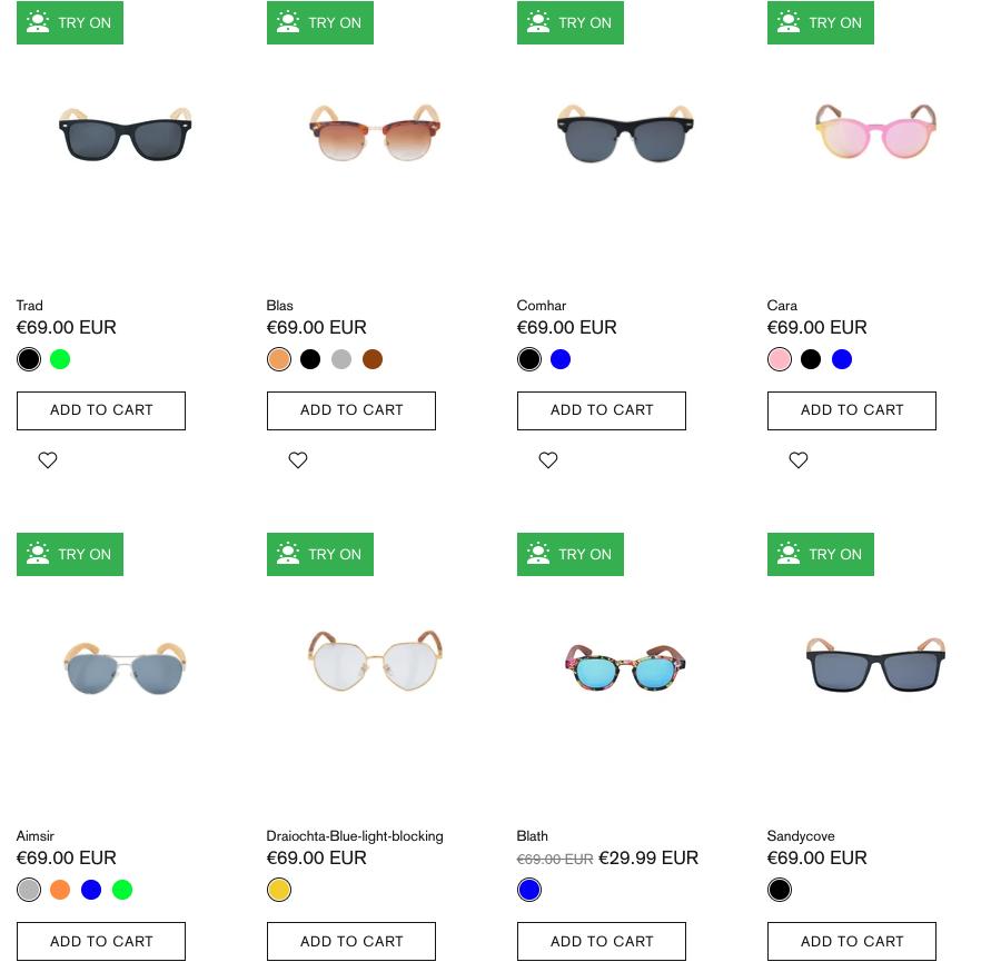 Crann Irish Sustainable Wood Sunglasses - Oval Shape Face