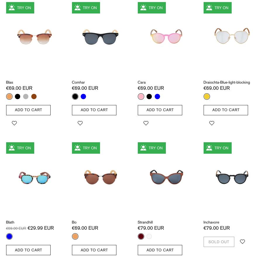Crann Irish Sustainable Wood Sunglasses - Square Shape Face