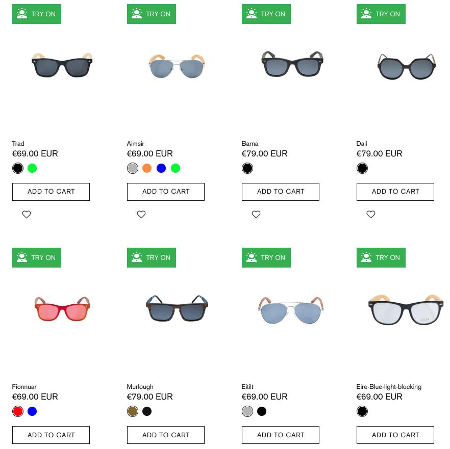 Crann Irish Sustainable Wood Sunglasses - Round Shape Face